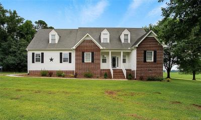 Amelia County Single Family Home For Sale: 7061 Dennisville Road Road