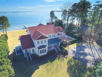 Deltaville Single Family Home For Sale: 744 S Stove Point Road
