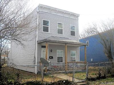 Richmond Single Family Home For Sale: 1809 N 21st Street