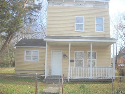 Richmond Single Family Home For Sale: 1811 N 21st Street