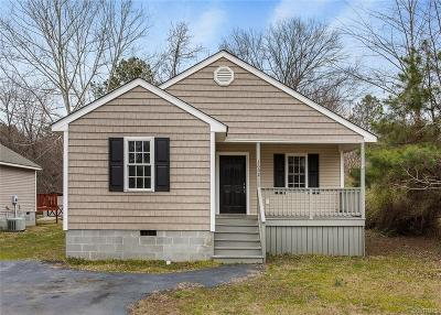 Petersburg Single Family Home For Sale: 3602 Dupuy Road