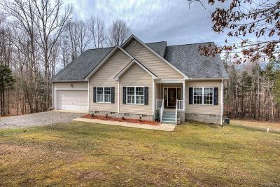 Bumpass Single Family Home For Sale: 1326 Robertson Town Road