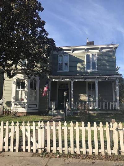 Single Family Home For Sale: 629 High Street