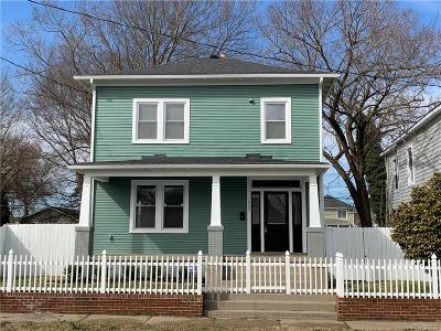 Richmond Single Family Home For Sale: 1905 Albany Avenue