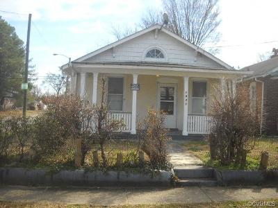 Richmond Single Family Home For Sale: 1821 N 22nd Street