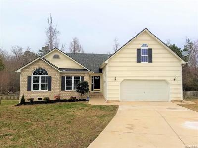 Chesterfield Single Family Home For Sale: 8201 Finworth Lane