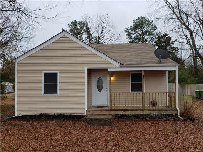 Hopewell Single Family Home For Sale: 3002 River Road