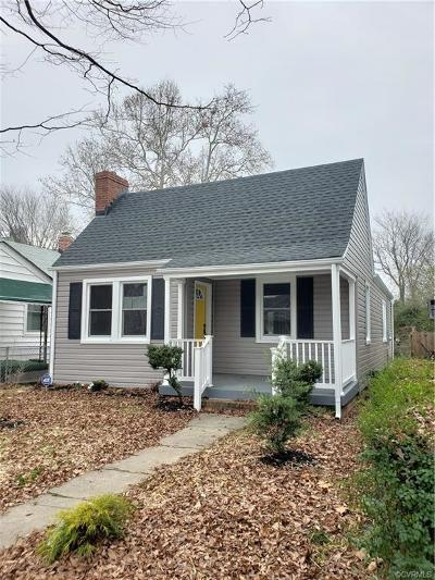 Richmond Single Family Home For Sale: 711 North 32nd Street