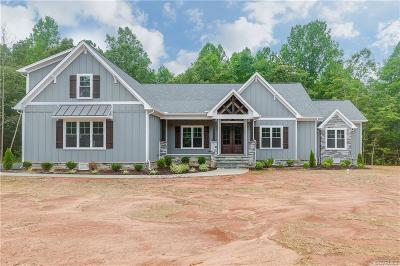 Powhatan County Single Family Home For Sale: 2989 Maple Lake Road