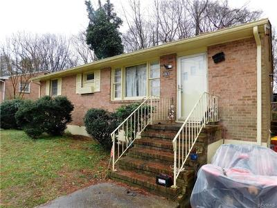 Petersburg Single Family Home For Sale: 462 Windham Street