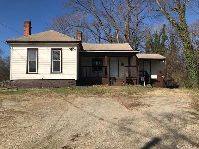 Chesterfield Single Family Home For Sale: 3712 Totty Street
