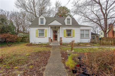 Henrico Single Family Home For Sale: 2202 Oregon Avenue