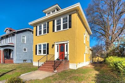 Richmond Single Family Home For Sale: 610 Overbrook Road