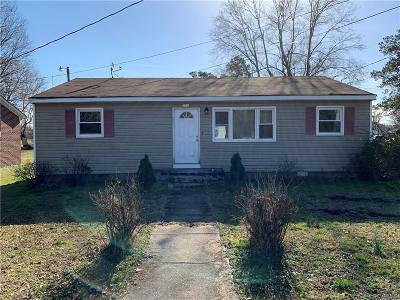 Sussex County Single Family Home For Sale: 303 Walnut Lane