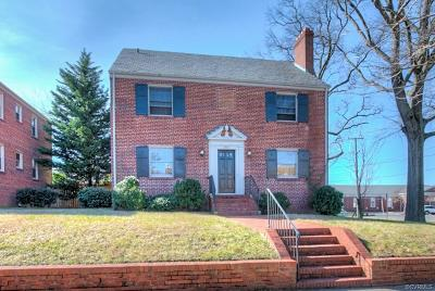 Richmond Multi Family Home For Sale: 3417 Monument Avenue
