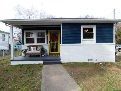 Richmond Single Family Home For Sale: 1236 N 37th Street