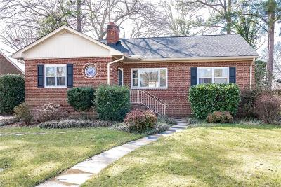 Henrico Single Family Home For Sale: 5307 West Grace Street