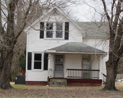 Crewe Single Family Home For Sale: 1518 West Maryland Avenue