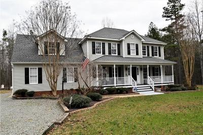 Powhatan Single Family Home For Sale: 4468 Lockin Rd