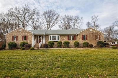 Chesterfield Single Family Home For Sale: 9950 Lumlay Road
