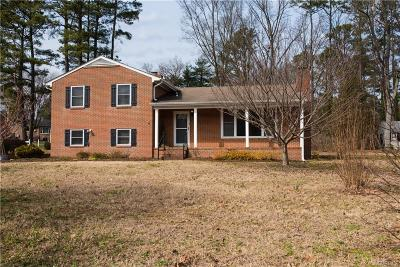Henrico Single Family Home For Sale: 2404 Lourdes Road