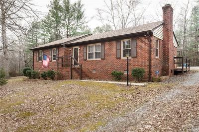 Chesterfield Single Family Home For Sale: 10100 Spring Run Road