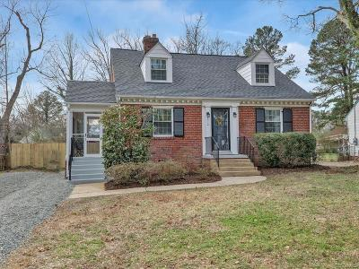 Henrico Single Family Home For Sale: 7314 Hermitage Road