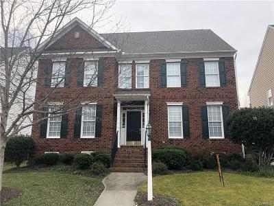 Henrico County Single Family Home For Sale: 4828 Coachmans Landing Court