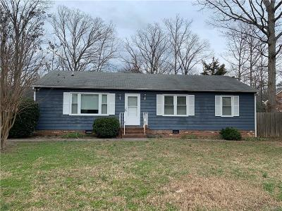 Richmond Single Family Home For Sale: 11130 Robious Road