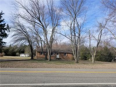 Chesterfield Single Family Home For Sale: 10631 River Road