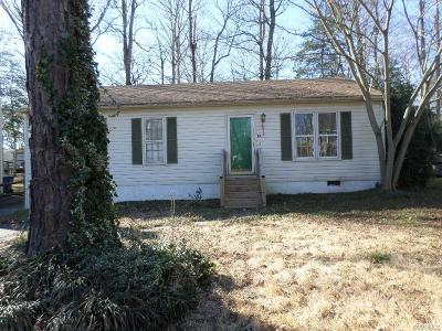 North Chesterfield Single Family Home For Sale: 1412 Twilight Lane