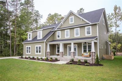 Powhatan Single Family Home For Sale: 3731 Mill Mount