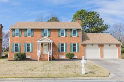 Colonial Heights Single Family Home For Sale: 3218 Jersey Court