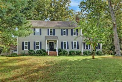 Richmond Single Family Home For Sale: 11413 Glenmont Road