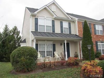 Henrico Condo/Townhouse For Sale: 1100 Dominion Townes Place