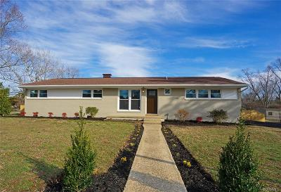 Mechanicsville Single Family Home For Sale: 7242 Stonewall Drive