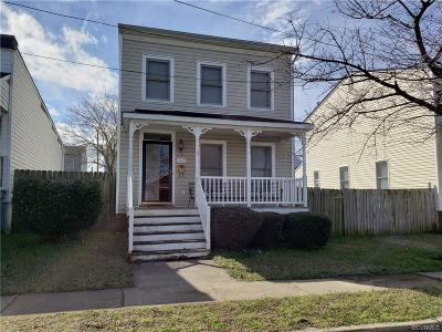 Richmond Single Family Home For Sale: 1819 Moore Street