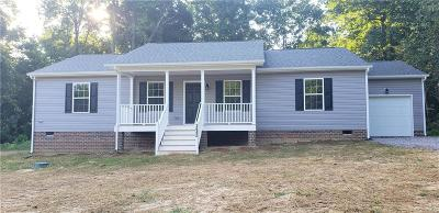 Hopewell Single Family Home For Sale: Lot 32 Flat Top Dr