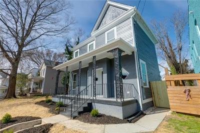 Richmond Single Family Home For Sale: 1008 N 35th Street