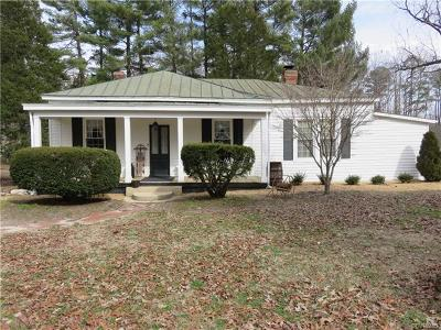 Mechanicsville Single Family Home For Sale: 4329 Sandy Valley Road