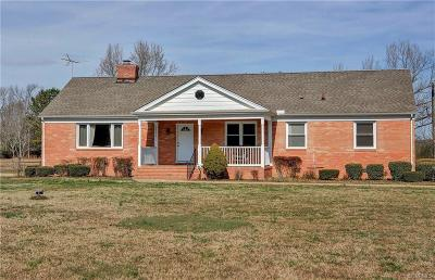 Prince George Single Family Home For Sale: 12309 Johnson Road