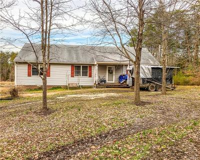 Powhatan County Single Family Home For Sale: 6014 Cartersville Road
