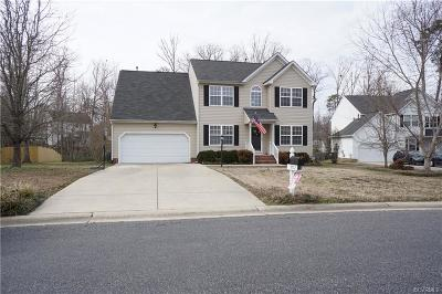 Chesterfield Single Family Home For Sale: 7712 Mount Holly Lane