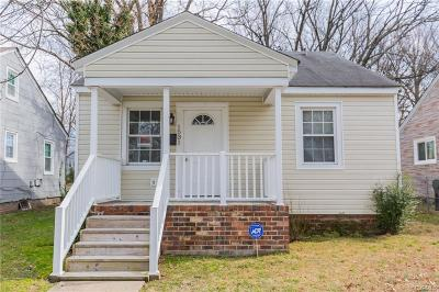 Richmond Single Family Home For Sale: 1531 N 20th Street