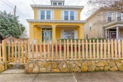 Richmond Single Family Home For Sale: 3218 Moody Avenue