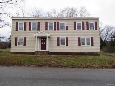 Petersburg Single Family Home For Sale: 6625 Jackson Street