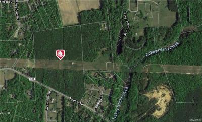 Henrico Land For Sale: 8201 Warriner Road