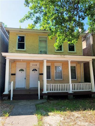Richmond Rental For Rent: 3119 4th Avenue