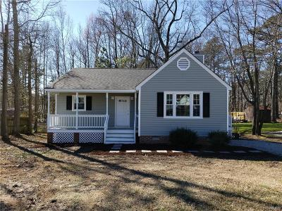 Dinwiddie Single Family Home For Sale: 5104 Yellowstone Drive