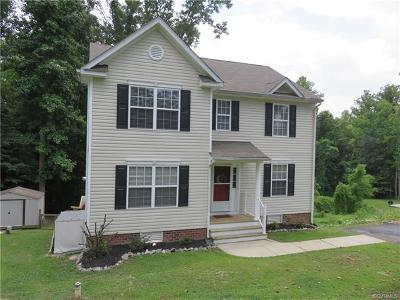 King William County Single Family Home For Sale: 357 Nottoway Lane
